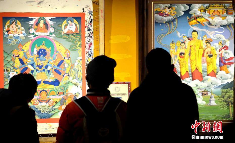 Thangka painting has a history of more than a thousand years, and is a unique art form in southwest China