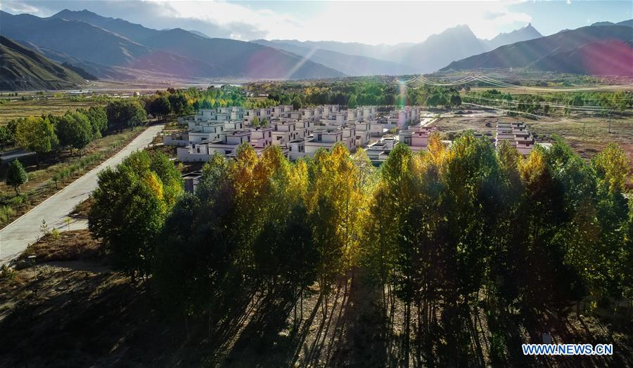CHINA-TIBET-AUTUMN-SCENERY (CN)